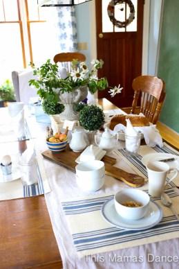 Farmhouse table Setting-3
