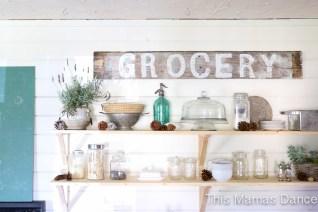 open shelves farmhouse kitchen-6