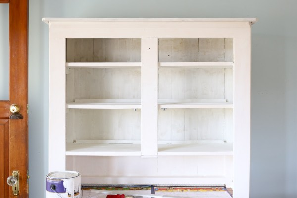 Painting an antique Hutch-3