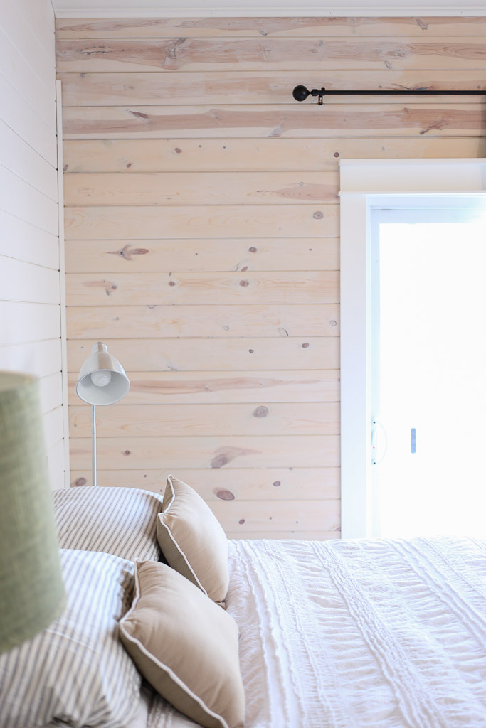 white washed pine furniture. White Washed Horizontal Planked Pine Wall-1 White Washed Pine Furniture