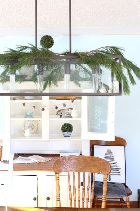 Decorating with Fresh Greens| This Mamas dance-3