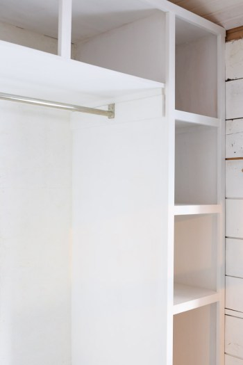 primed built in cabinets, mud room| This Mamas Dance