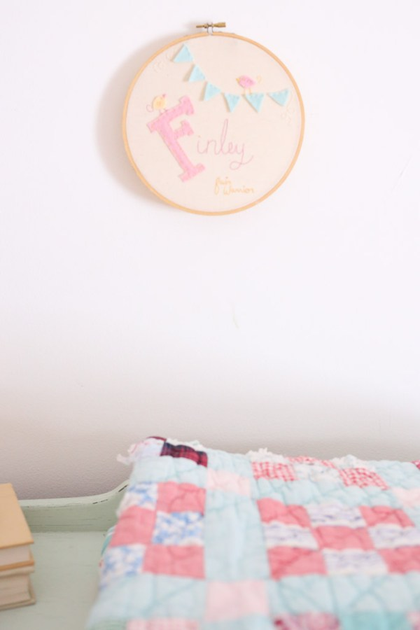 Hand Embroidered Wall Hoop| This Mamas Dance-1