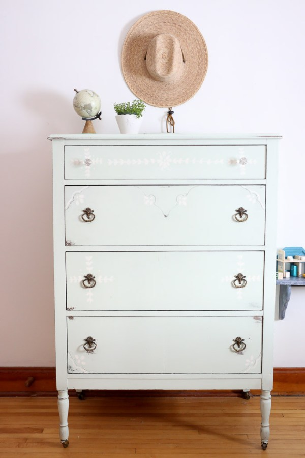 Mint Dresser, Styled with Sunhat-1