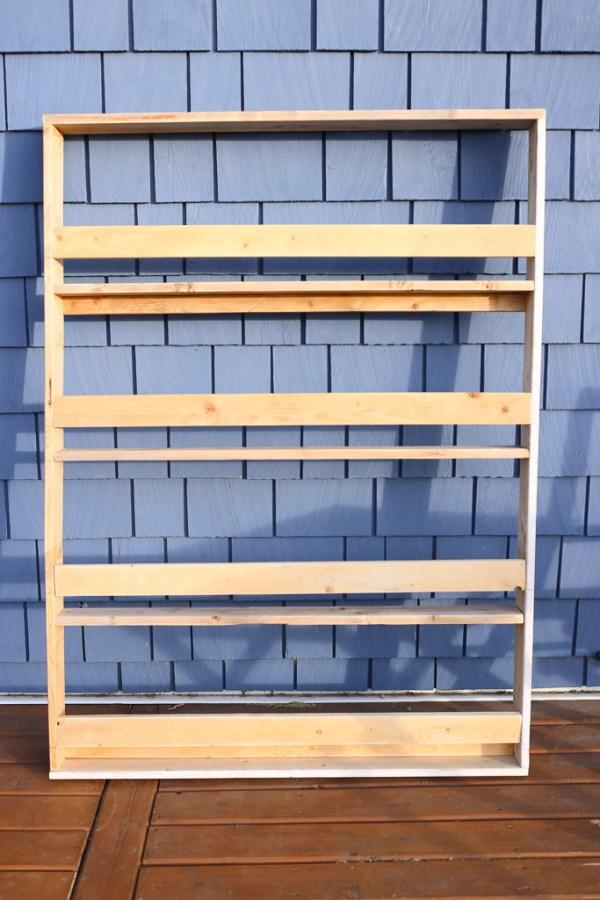 Scrap Wood Book Shelf Supplies| Mamas Dance-2