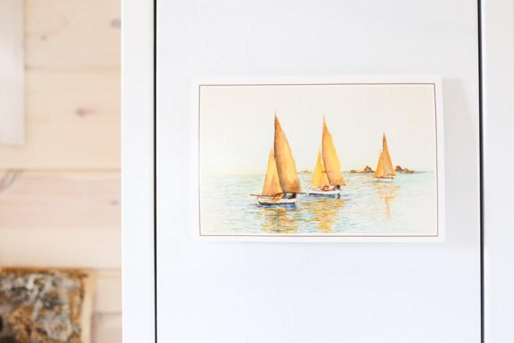 sailboat painting |This Mamas Dance-1