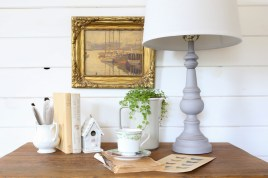 Chalk Painted Lamp |This Mamas Dance-9