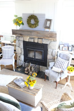 fall-living-room-sunflowers-grey-and-blue-this-mamas-dance-4