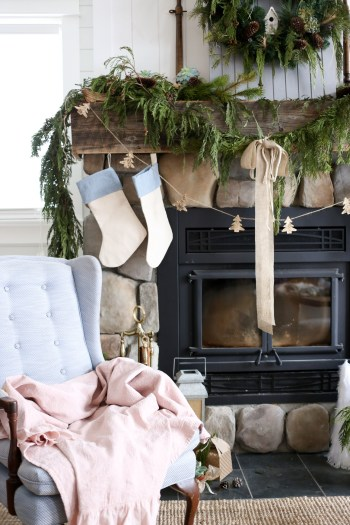 blue-and-cream-christmas-mantle-this-mamas-dance-9