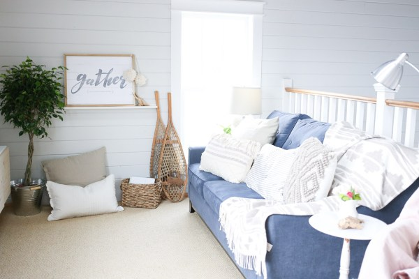 Coastal Family Room Tour| This Mamas Dance