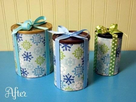 reciclar y decorar latas y frascos