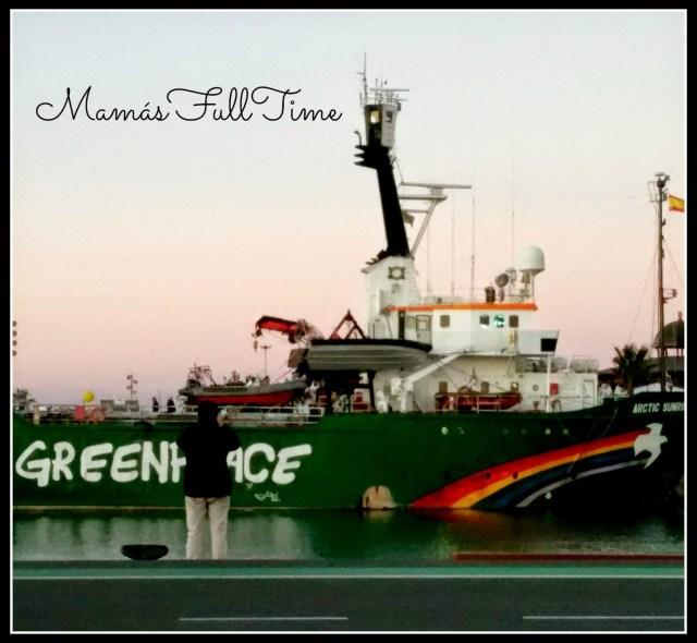 Visita Barco Greenpeace Artic Sunrise