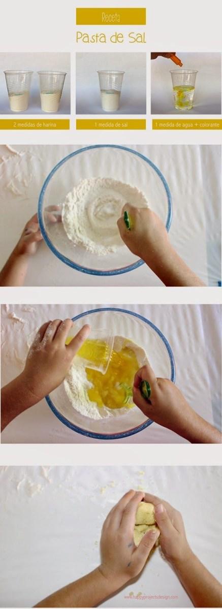 Manualidades. Con las Manos en la Masa o en la Pasta de Sal.