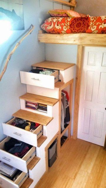 almacenaje altura armarios cajones color espacio