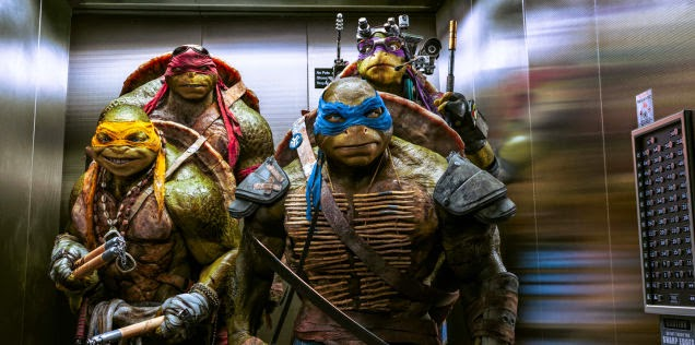 Ninja Turtles Megan Fox Película Aventuras