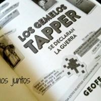 Los gemelos Tapper, un libro para que se diviertan