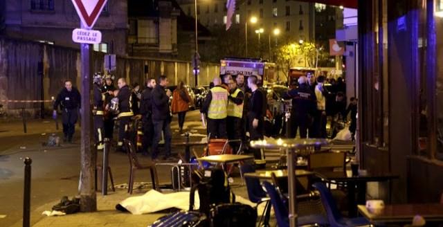 Dolor Consternación Calle París Restaurante