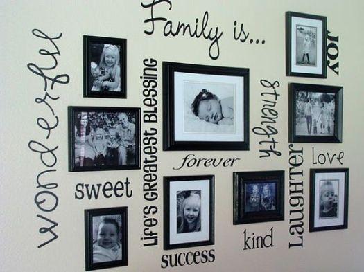 fotos pared niños decoración