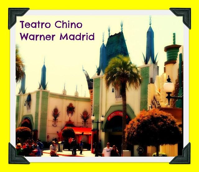 Parque atracciones Warner Madrid