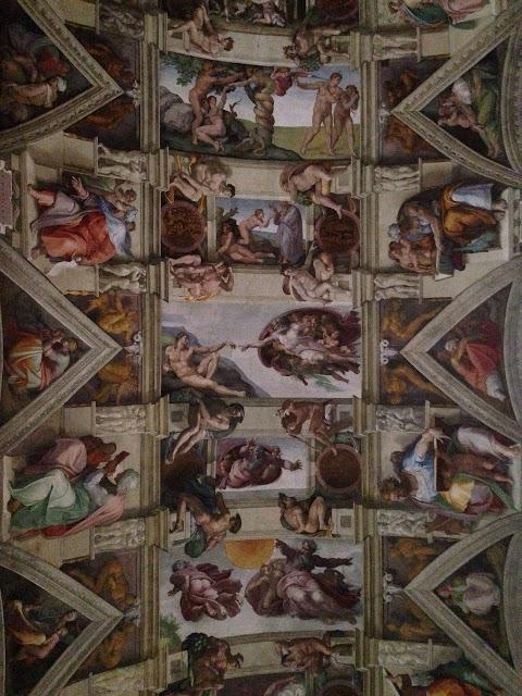 Vaticano Capilla Sixtina Arte Catolicismo