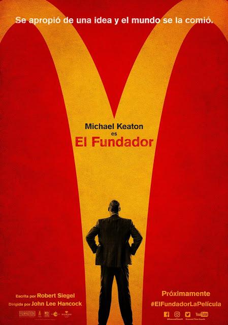 Estrenos Película Fundador McDonalds
