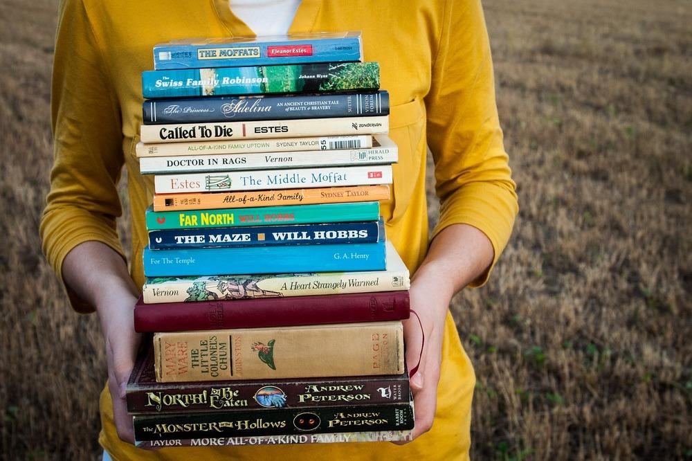 libros en verano