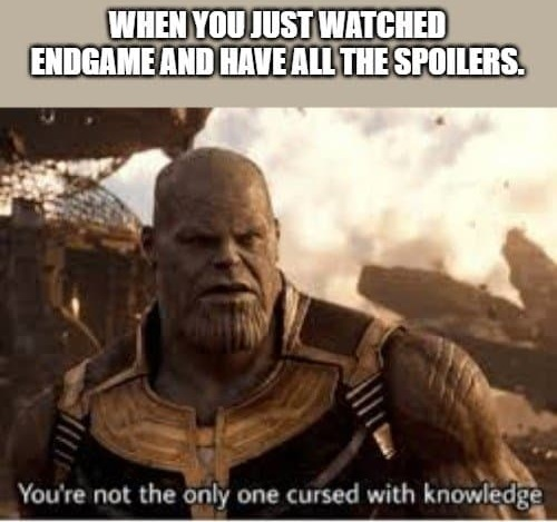 30 Avengers Endgame Memes That Will Make You Laugh Cry