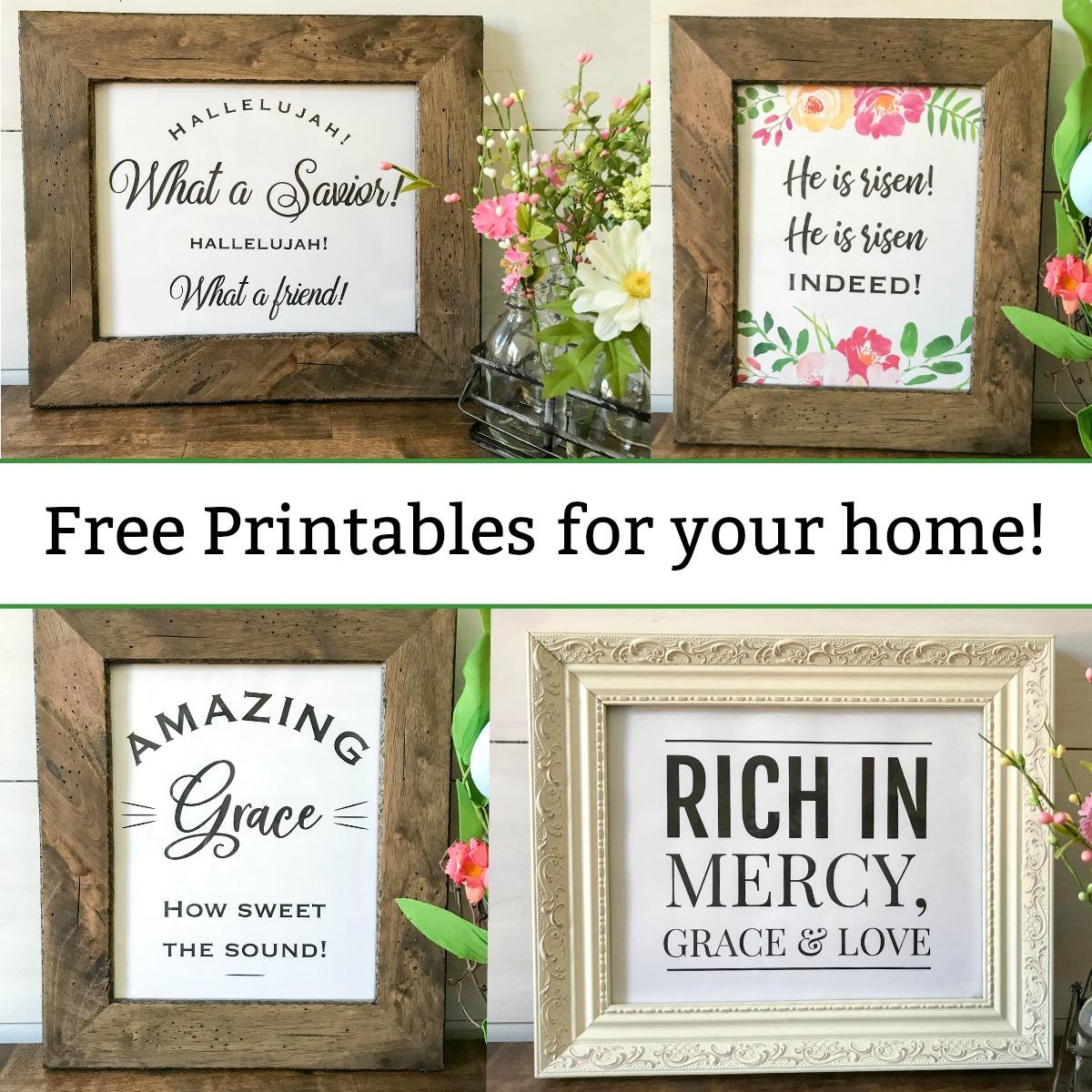 Free Printables Christian Wall Art