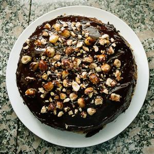 Chocolate Hazelnut Cake by Neil Conway
