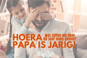 Papa is jarig