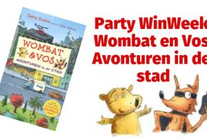 Party WinWeek | Wombat en Vos - Avonturen in de stad
