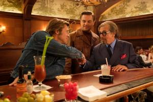 Leonardo DiCaprio, Brad Pitt and Al Pacino in Columbia Pictures ÒOnce Upon a Time in Hollywood""