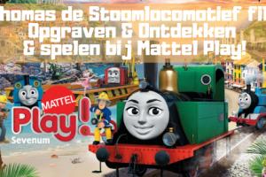Thomas de Stoomlocomotief film; Opgraven & Ontdekken & spelen bij Mattel Play!