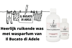 Heerlijk ruikende was met wasparfum van Il Bucato di Adele