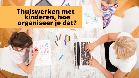 Thuiswerken met kinderen, hoe organiseer je dat?  Shutterstock Door Spectral-Design
