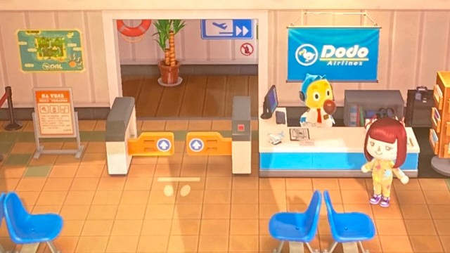 Animal Crossing Dodo Airlines