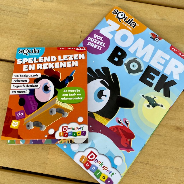 Squla Denksport Junior Zomerboek Puzzelblok