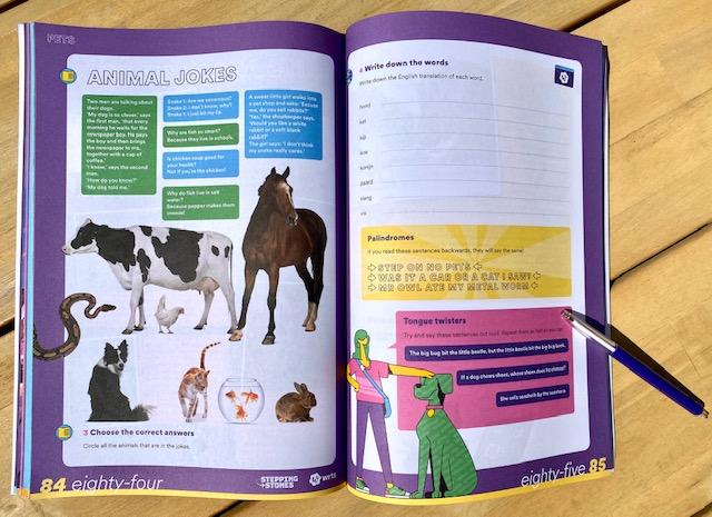 The Next Step hét educatieve Engelse vakantieboek van de makers van Squla
