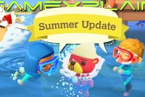 Animal Crossing: New Horizons - Zomerupdate