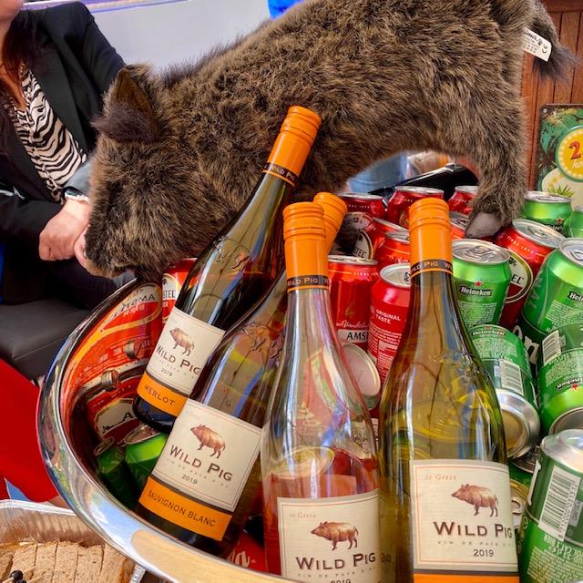 Blogboot - Wild Pig Wine