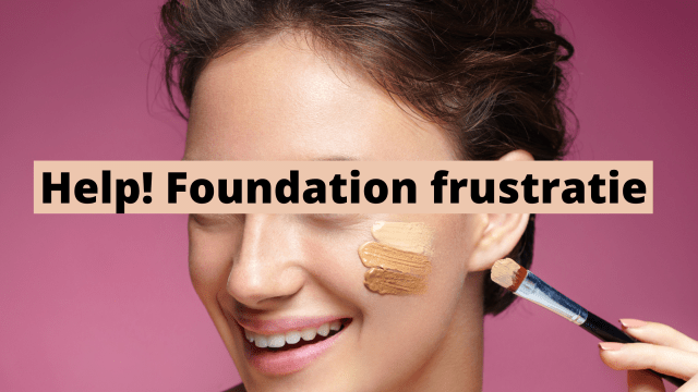 Help! Foundation frustratie Shutterstock door