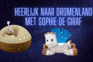 Sophie de giraf Light & Dreams en Sterrenprojector