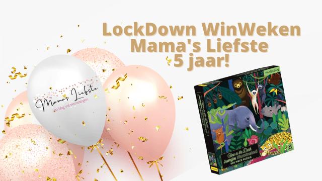 Lockdown winweken & 5 jaar Mama's Liefste | Puzzelen met Mudpuppy