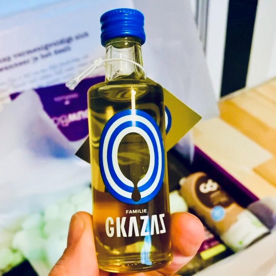 Gkazas - biologische vierge olijfolie