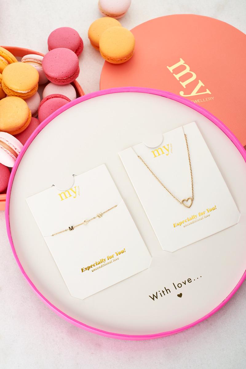 My Jewellery moederdag giftbox hartje mom
