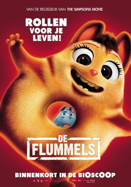 De Flummels filmposter