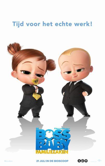 De Boss Baby: Familiezaken filmposter