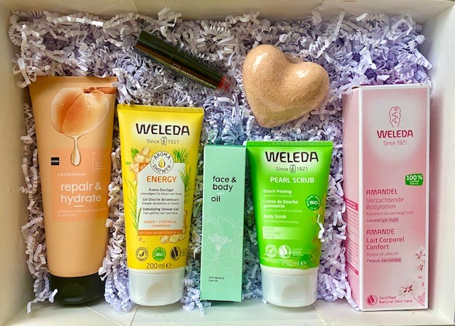 HEMA Weleda zomerbox