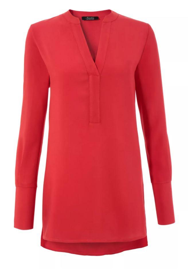 Aniston SELECTED lange blouse met extralange manchetten - nieuwe collectie