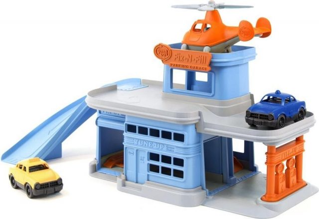 Green Toys Parkeergarage 100 recycled plastic